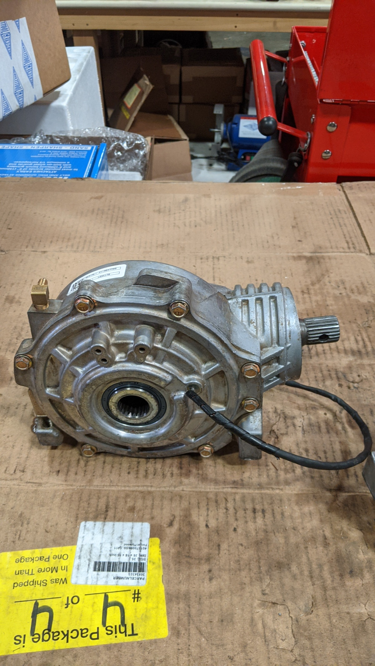 For Sale: Polaris XP1k NA front Diff - photo0