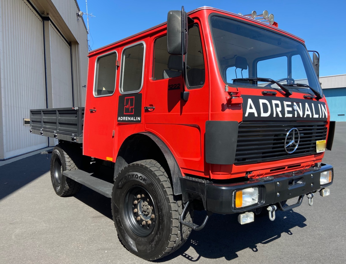 For Sale: Mercedes Benz 1222 AF 4x4 Doka for sale - $65K obo - photo0