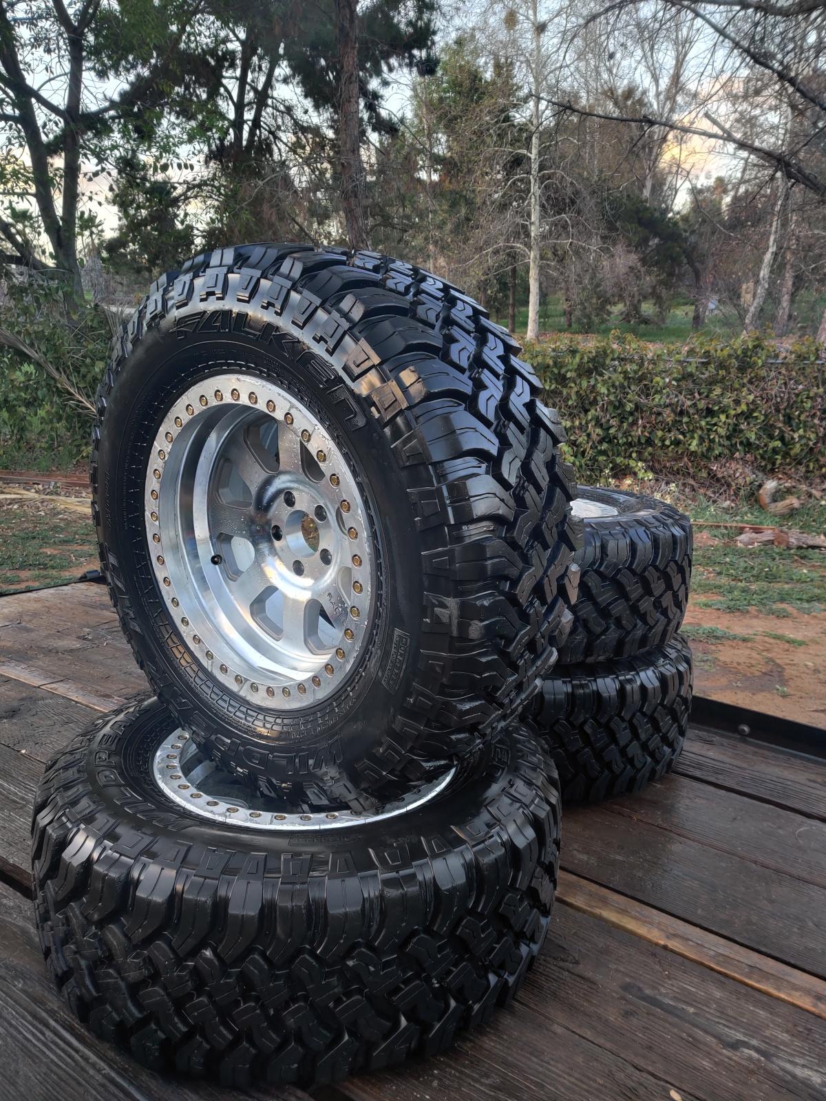 For Sale: Raceline Avenger Beadlock Wheels For Jeep 37