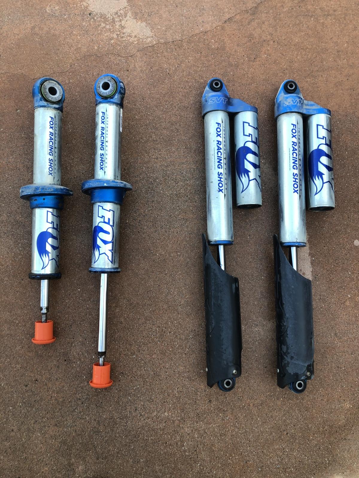 For Sale: Ford raptor gen 1 front shocks - photo0