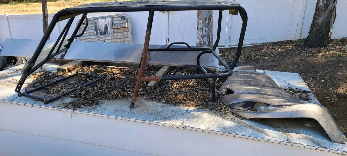 For Sale: TERYX CAGE DOORS BUMPER - photo1