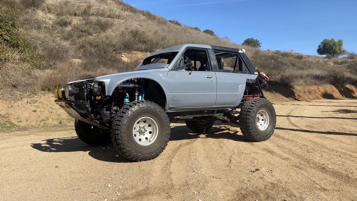 For Sale: Toyota 4runner V8 race truck - photo0