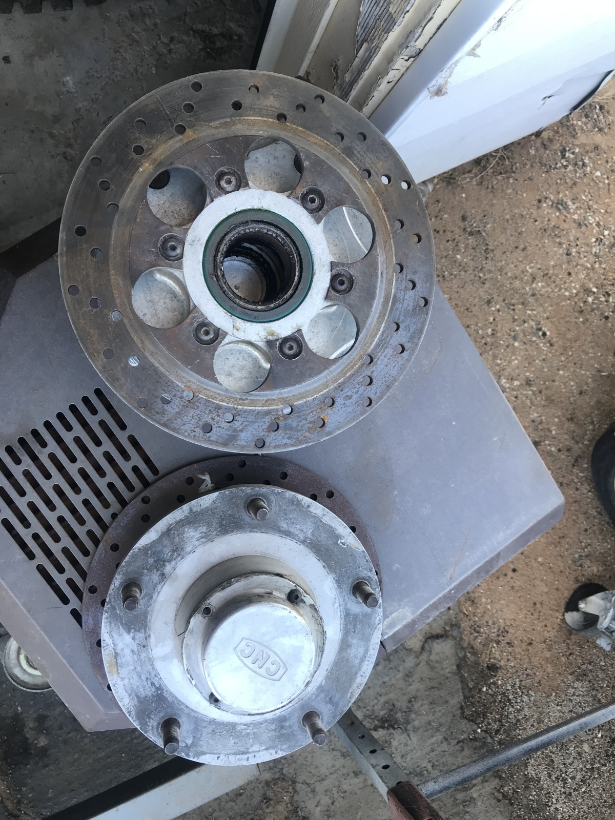For Sale: Cnc hubs for 2 inch snouts - photo0