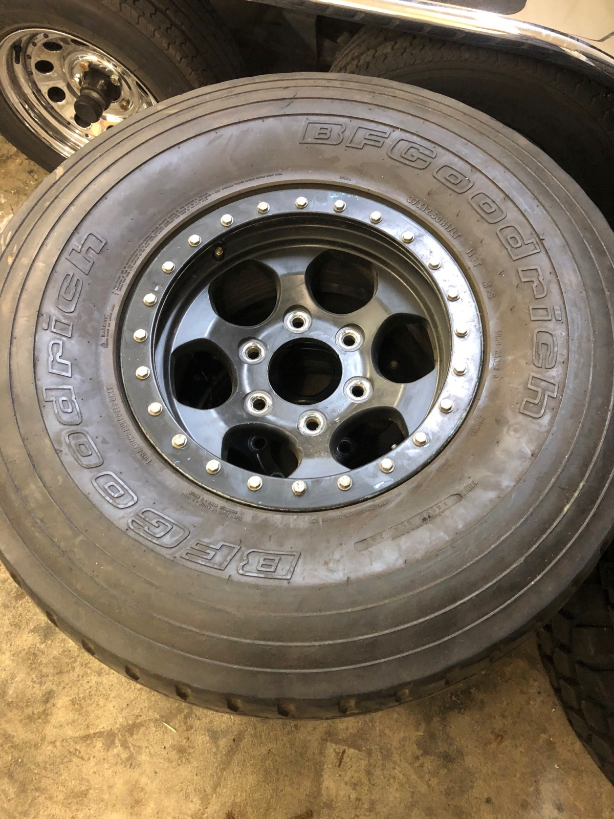 For Sale: robby gordon wheels and 37