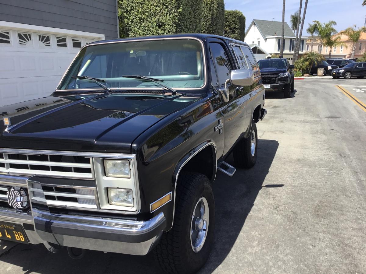 For Sale: 1985 K5 BLAZER - photo4