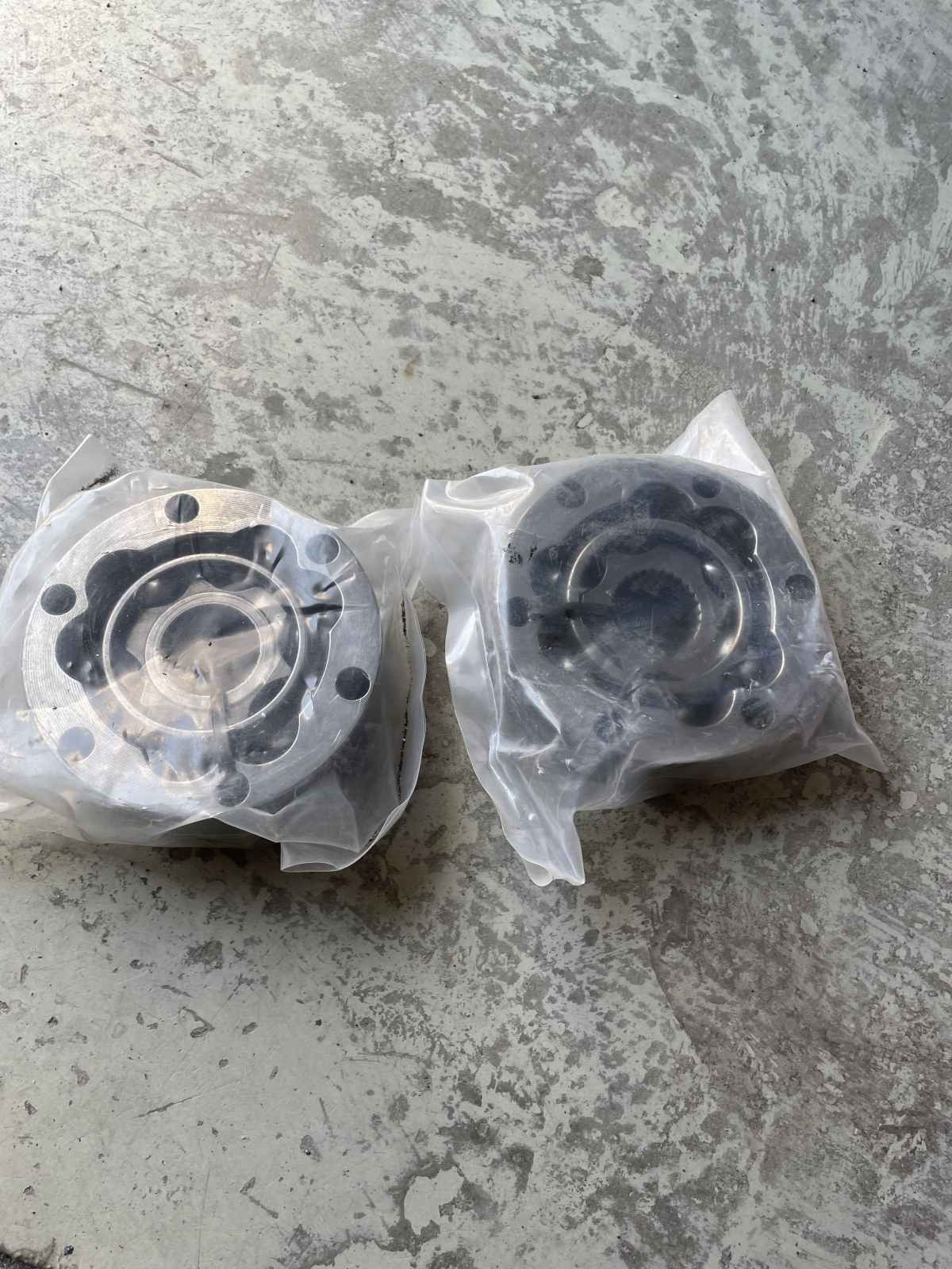For Sale: NEW- Pair 930 German CV joints polished - photo0