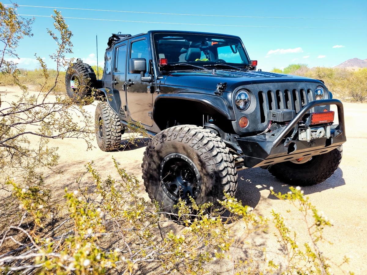 For Sale: Jeep Wrangler JK 2012 Sport - Utah Rock Crawler - photo0