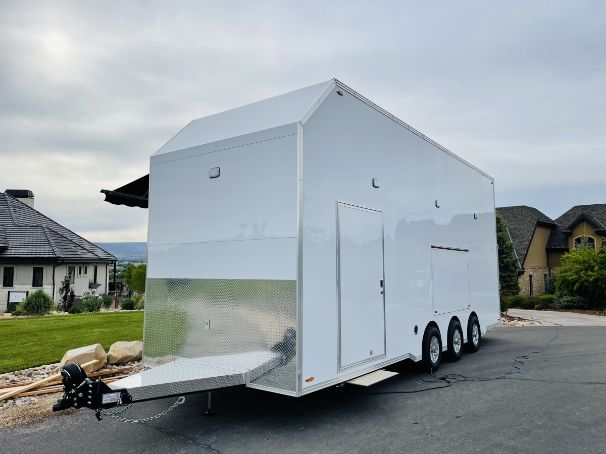 For Sale: 2021 Stacker Trailer 28' Belly Lift Fuel & Water On Board NEW - photo1