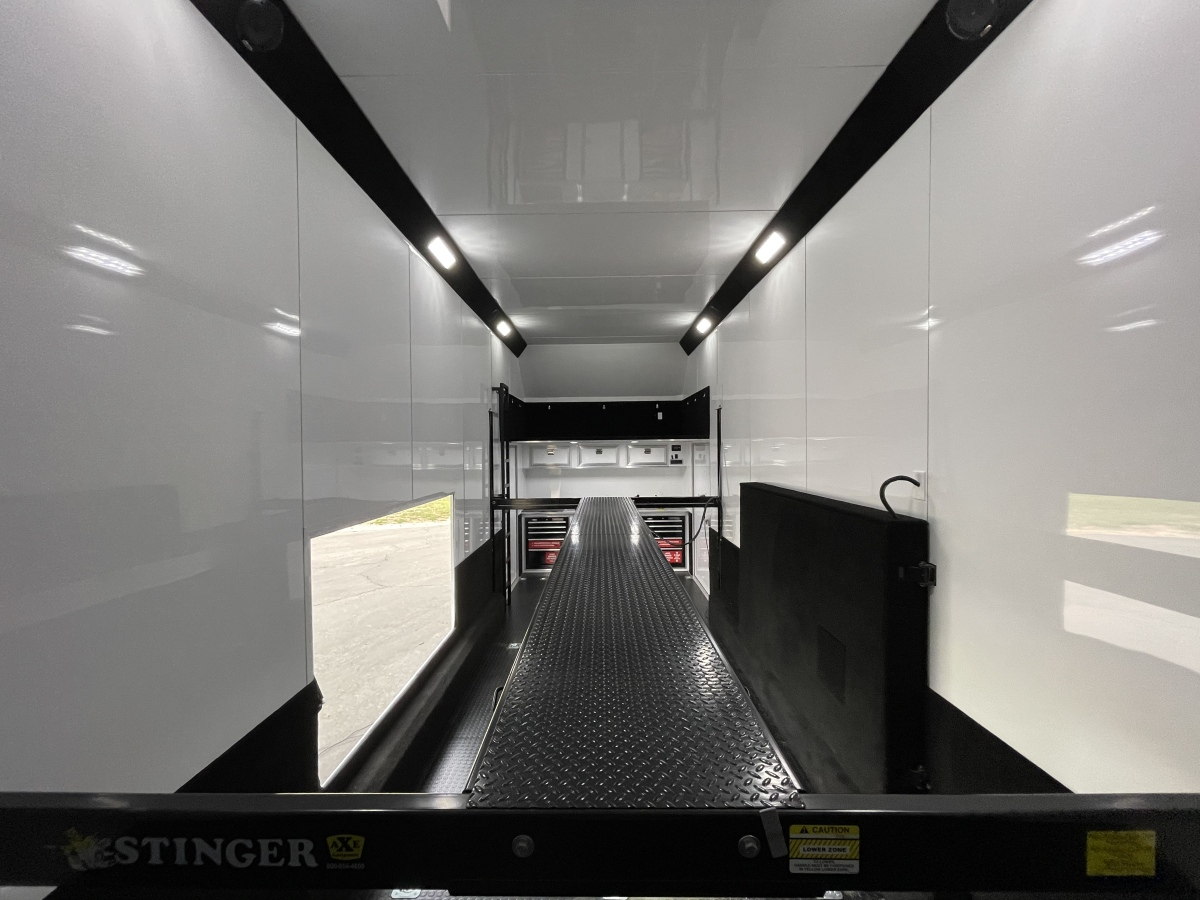 For Sale: 2021 Stacker Trailer 28' Belly Lift Fuel & Water On Board NEW - photo4