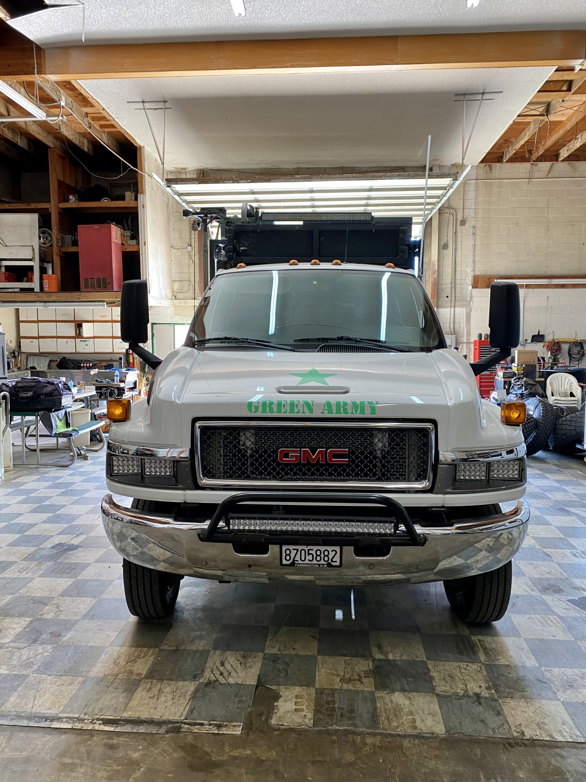 For Sale: Kodiak 4500 4X4 Duramax Chase Truck - photo2