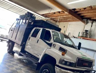For Sale:Kodiak 4500 4X4 Duramax Chase Truck