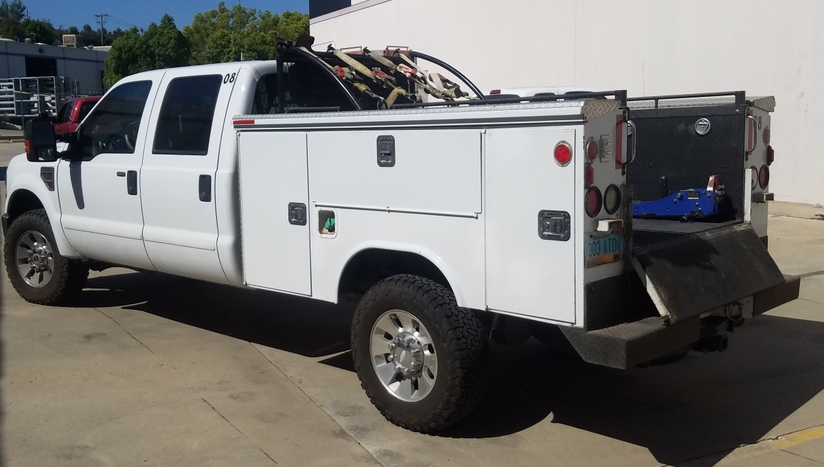For Sale: 6.4 liter 4X4 POWERSTROKE DIESEL F350 Superduty Lariat Crew Cab  Chase  - photo3