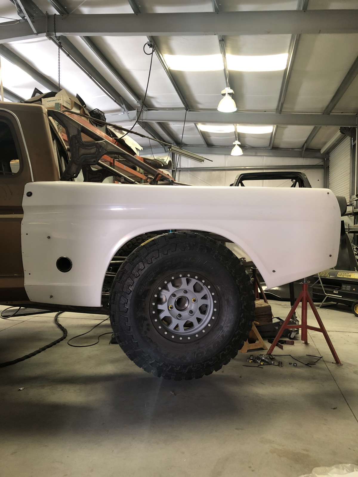 For Sale: 3 Seat Jefferies Built Ford F-100 Luxury Prerunner Project-Ready for assembly  - photo2