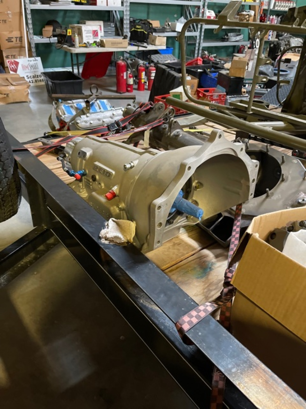 For Sale: 3 Seat Jefferies Built Ford F-100 Luxury Prerunner Project-Ready for assembly  - photo5