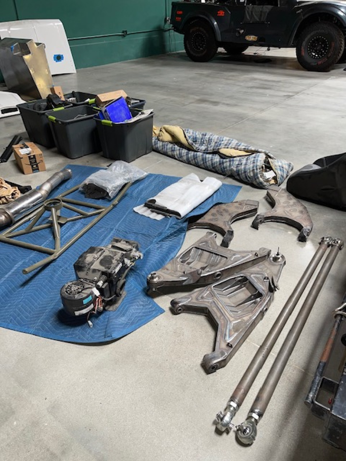 For Sale: 3 Seat Jefferies Built Ford F-100 Luxury Prerunner Project-Ready for assembly  - photo7
