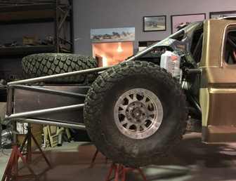 For Sale:3 Seat Jefferies Built Ford F-100 Luxury Prerunner Project-Ready for assembly