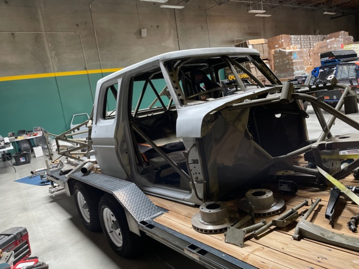 For Sale: 3 Seat Jefferies Built Ford F-100 Luxury Prerunner Project-Ready for assembly  - photo10