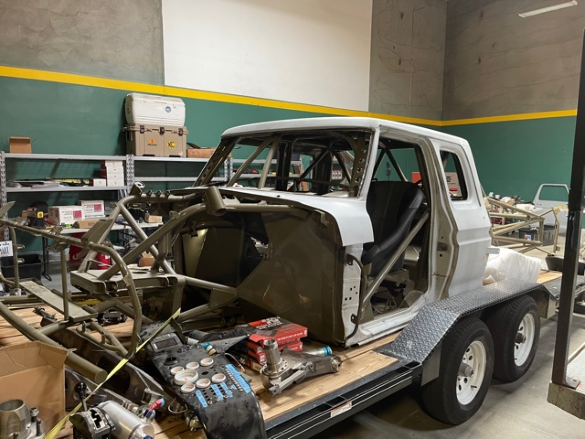 For Sale: 3 Seat Jefferies Built Ford F-100 Luxury Prerunner Project-Ready for assembly  - photo4