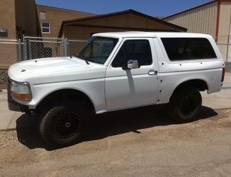 For Sale:1994 ford bronco