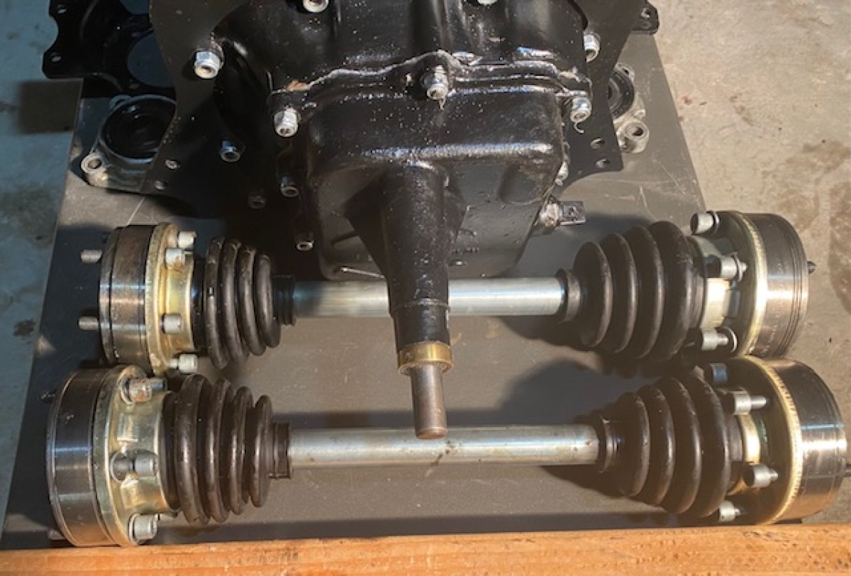 For Sale: 002 Sand Transaxle-Complete Setup - photo1