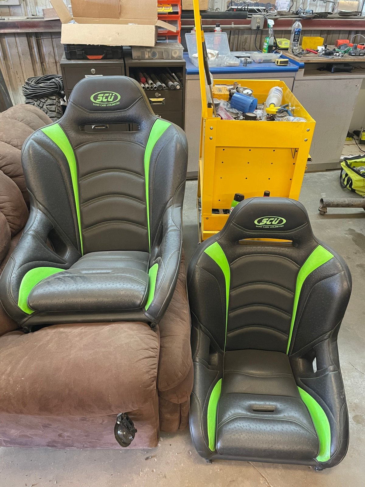 For Sale: Jet trim suspension seats - photo0