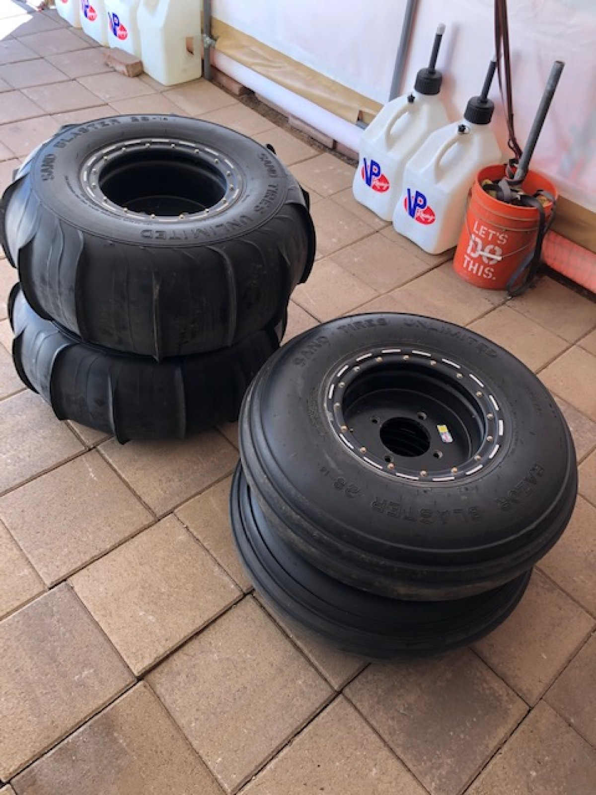 For Sale: RZR 1000 Sand tires and wheels - photo0