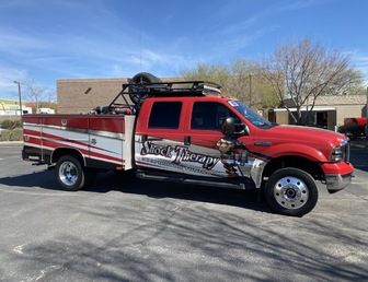 For Sale:Chase Truck, Ford F550, Diesel 6L, new bulletproof kit