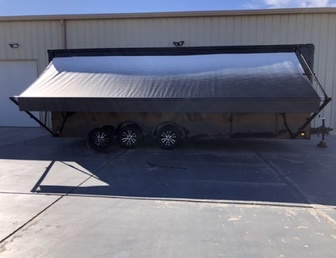 For Sale:NEW Continental Cargo 8.5 x 24 black out limited edition enclosed trailer