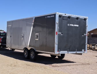 For Sale:2018  24' POLARIS ALL ALUMINUM TRAILER