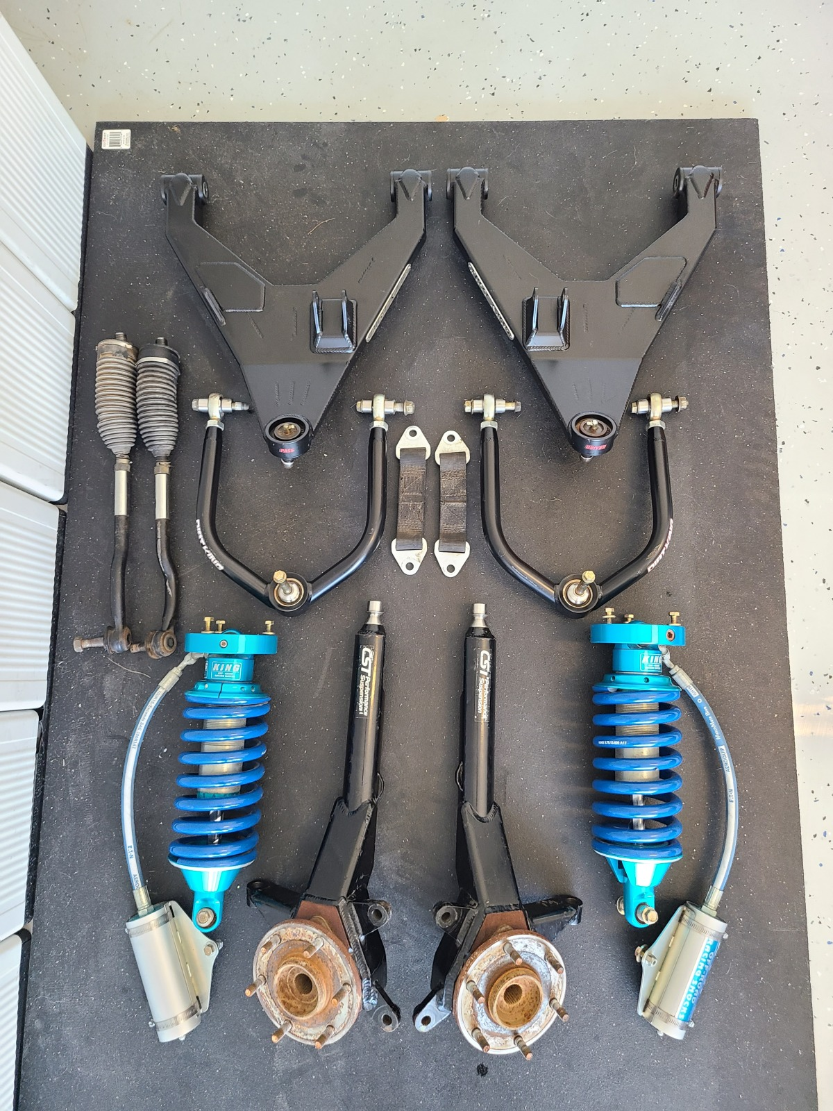 For Sale: Dirt King Long Travel Kit, CST Spindles, King Coilovers Nissan Titan - photo0