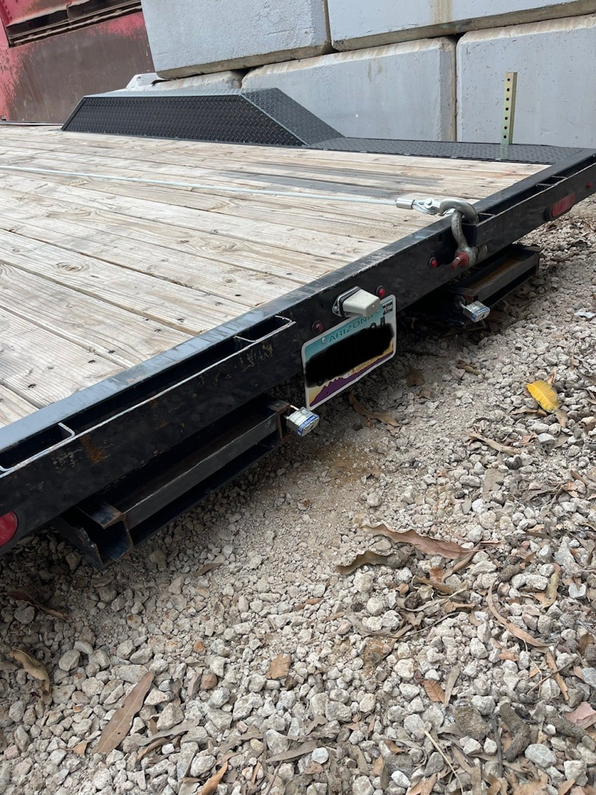 For Sale: 8.5' x 18' 2021 Drive Over Deck Utility Trailer  - photo5