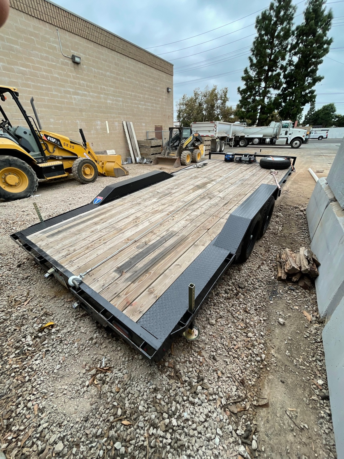 For Sale: 8.5' x 18' 2021 Drive Over Deck Utility Trailer  - photo6