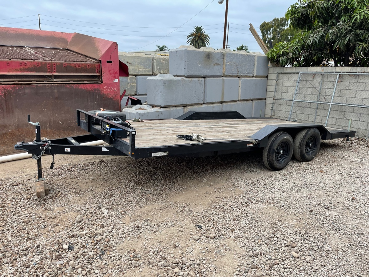 For Sale: 8.5' x 18' 2021 Drive Over Deck Utility Trailer  - photo0