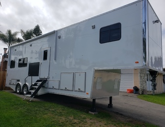 For Sale:Custom Luxury one of a kind Race Trailer