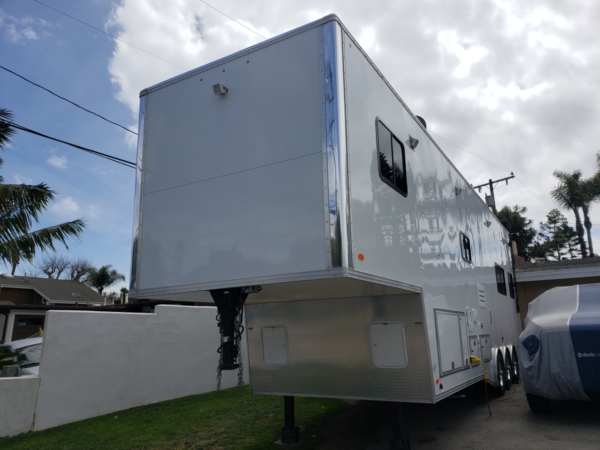 For Sale: Race Trailer With Luxury Living Quarters - photo1