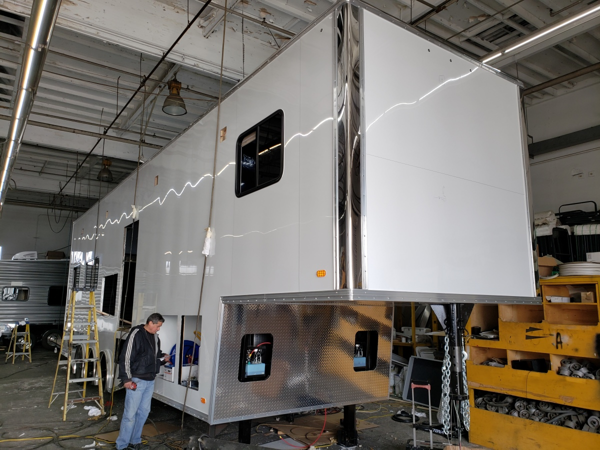 For Sale: Race Trailer With Luxury Living Quarters - photo5