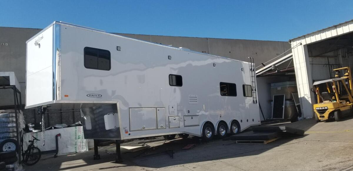 For Sale: Race Trailer With Luxury Living Quarters - photo25
