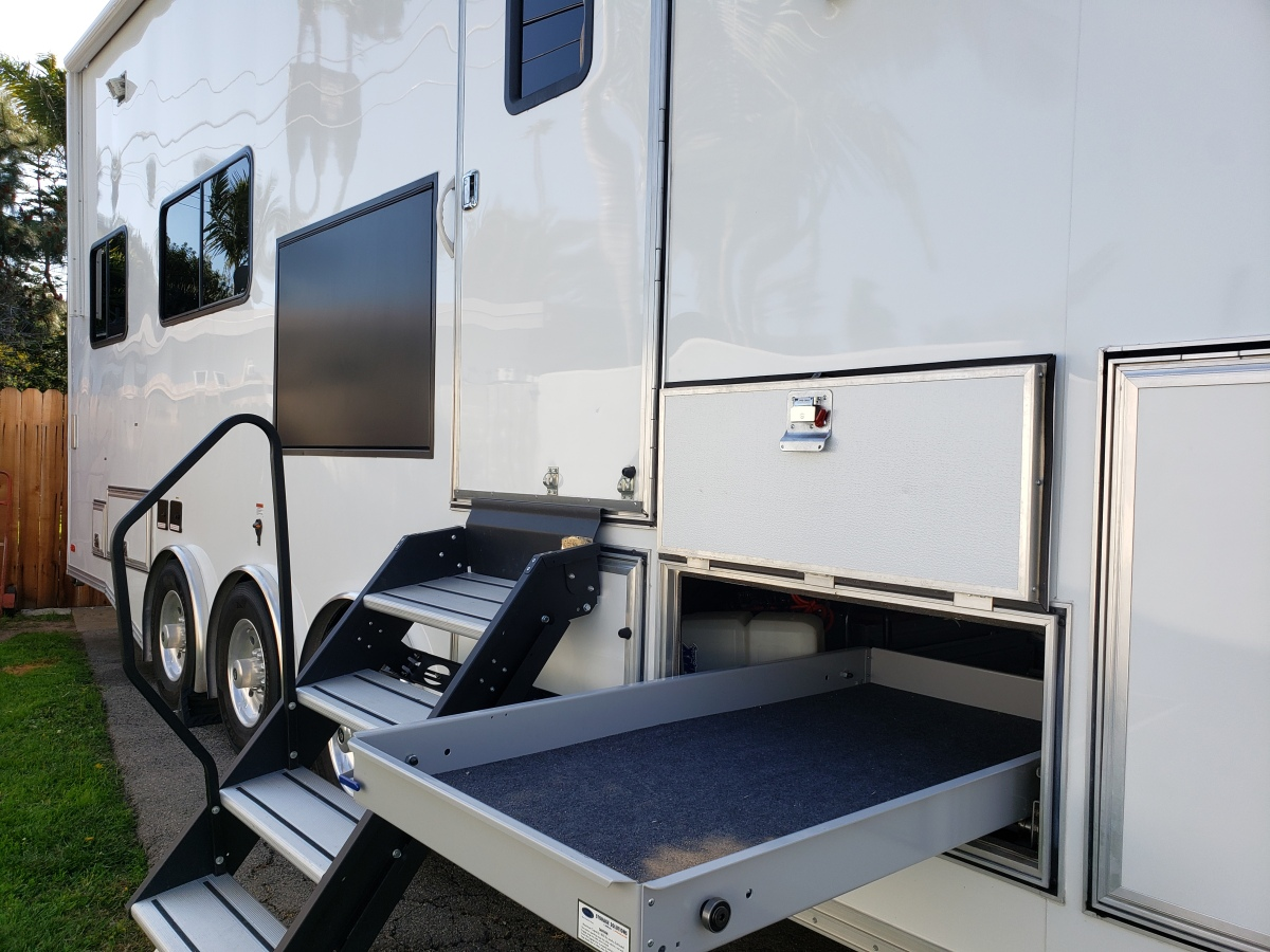 For Sale: Custom Luxurious one of a kind Race Trailer - photo29
