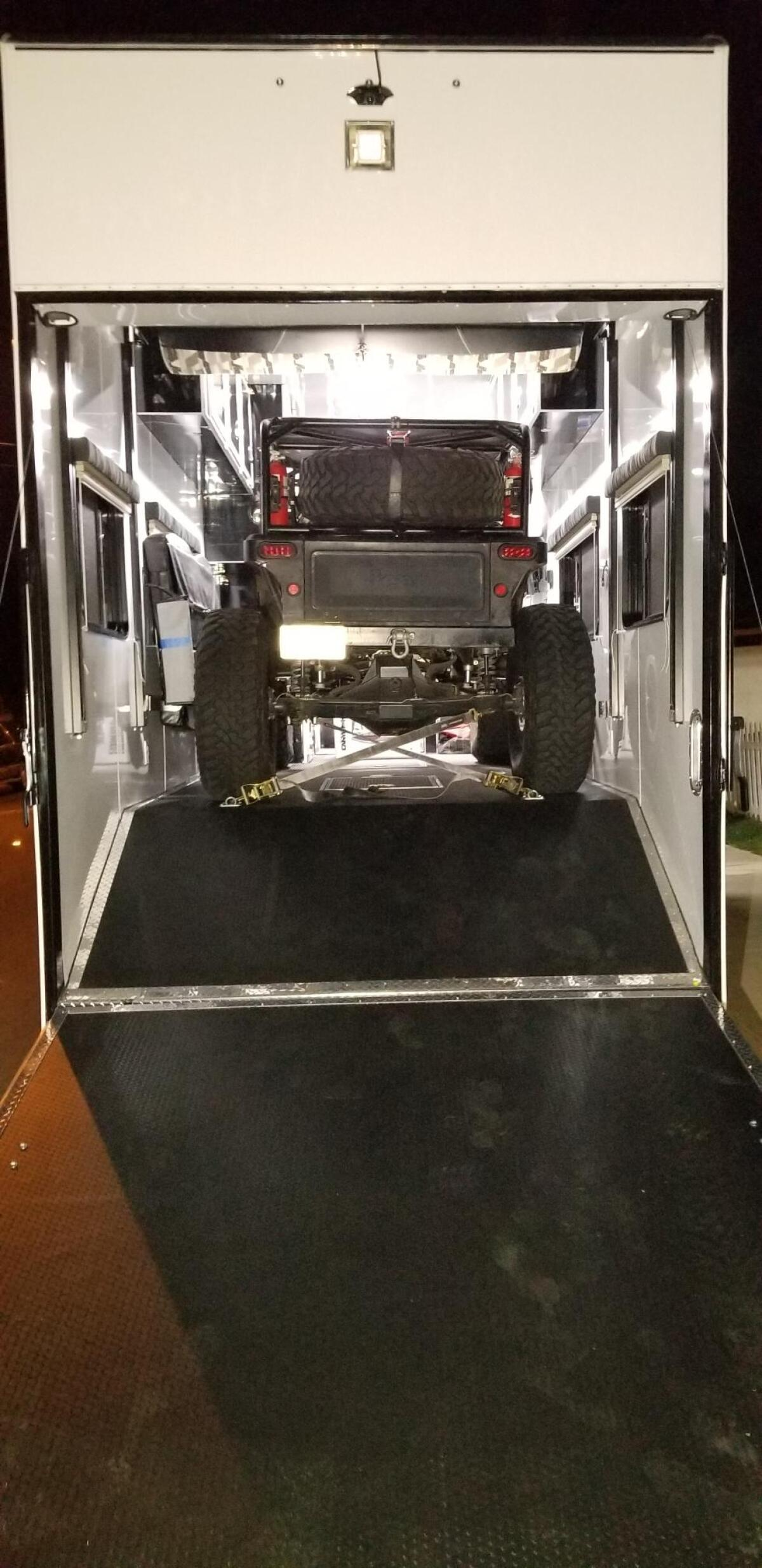 For Sale: Race Trailer With Luxury Living Quarters - photo24