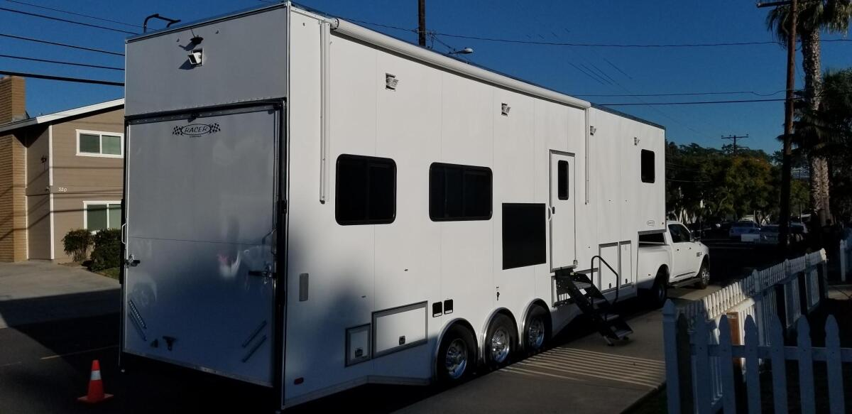 For Sale: Race Trailer With Luxury Living Quarters - photo35