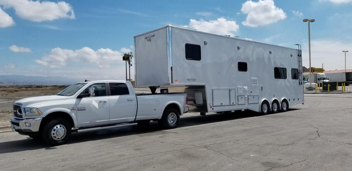 For Sale: Race Trailer With Luxury Living Quarters - photo2
