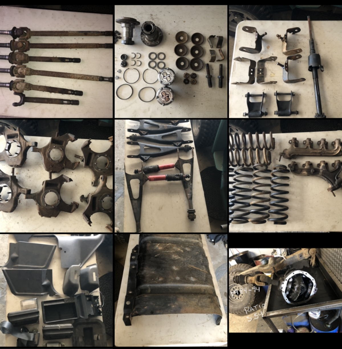 For Sale: Bronco/F-150 parts  - photo0