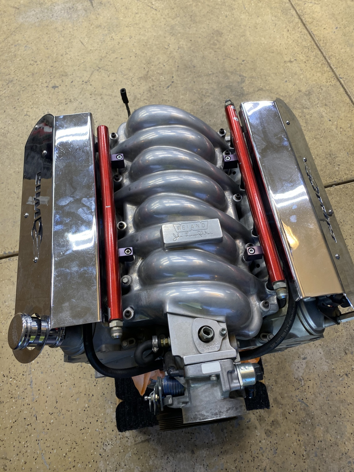 For Sale: CBM LS2 engine, harness and computer - photo1