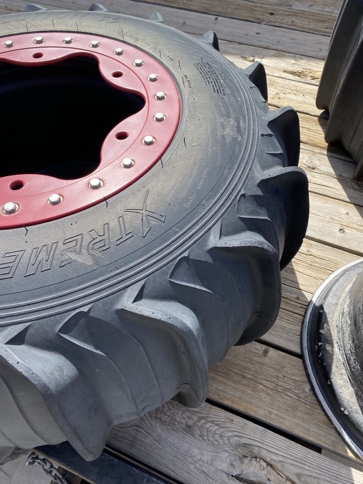 For Sale: Bourgette wheels and Titan front tires - photo1