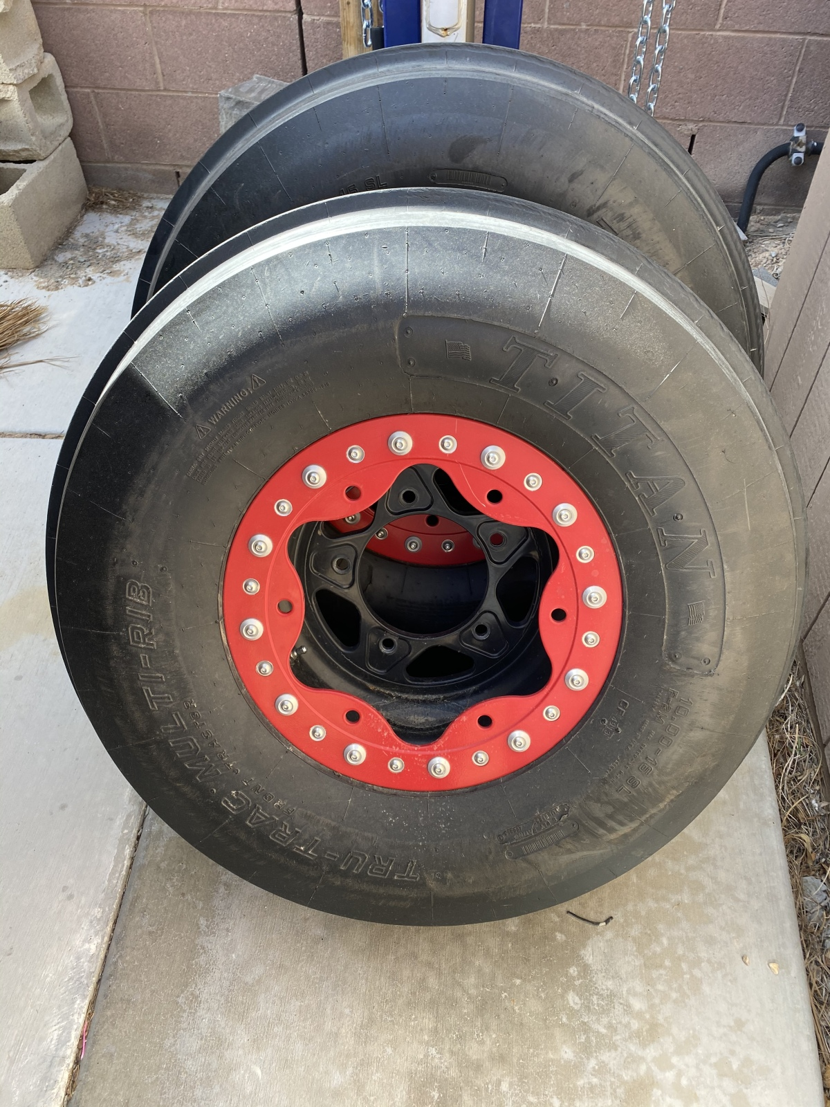 For Sale: Bourgette wheels and Titan front tires - photo3