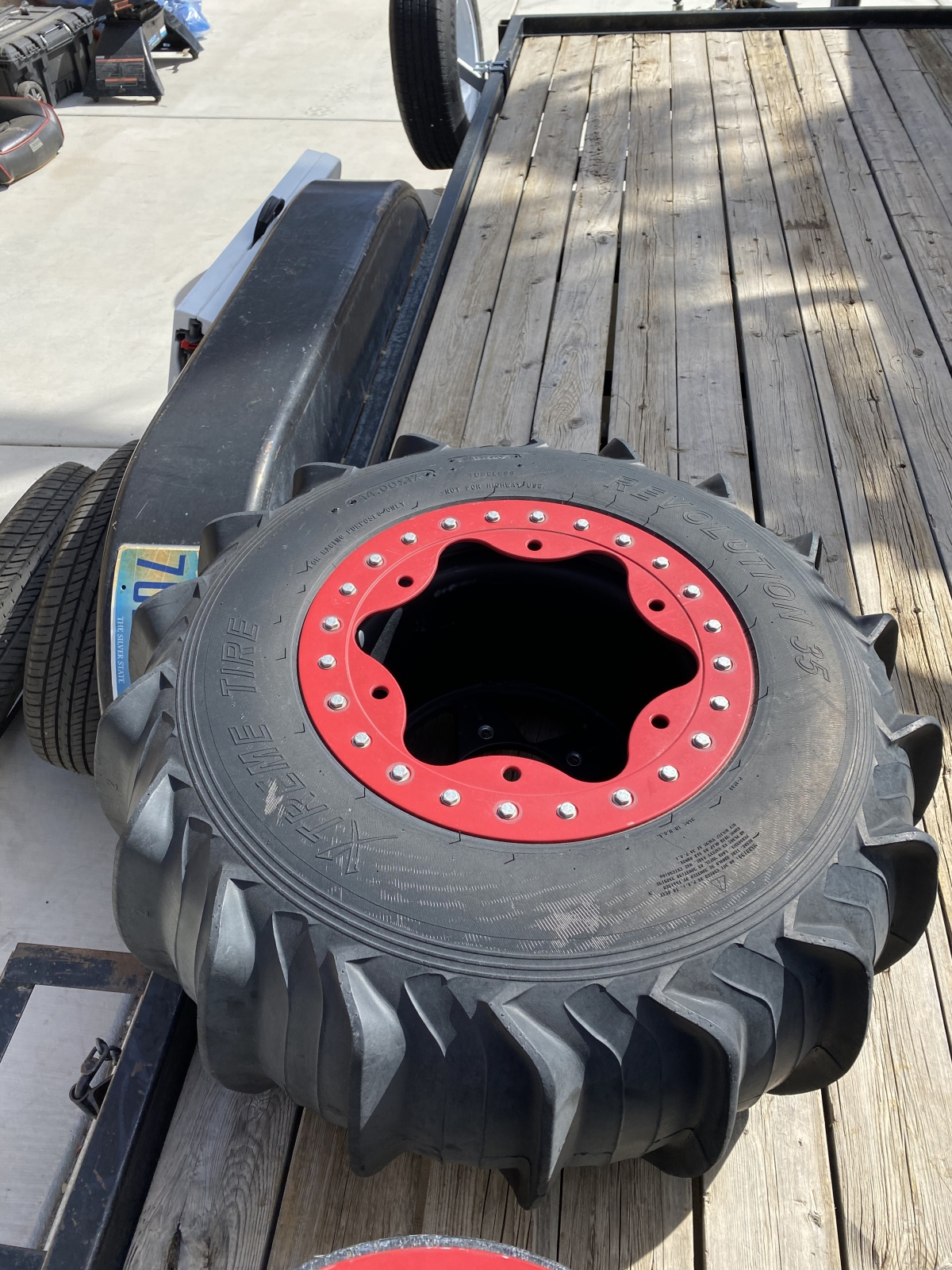 For Sale: Bourgette wheels and Titan front tires - photo2