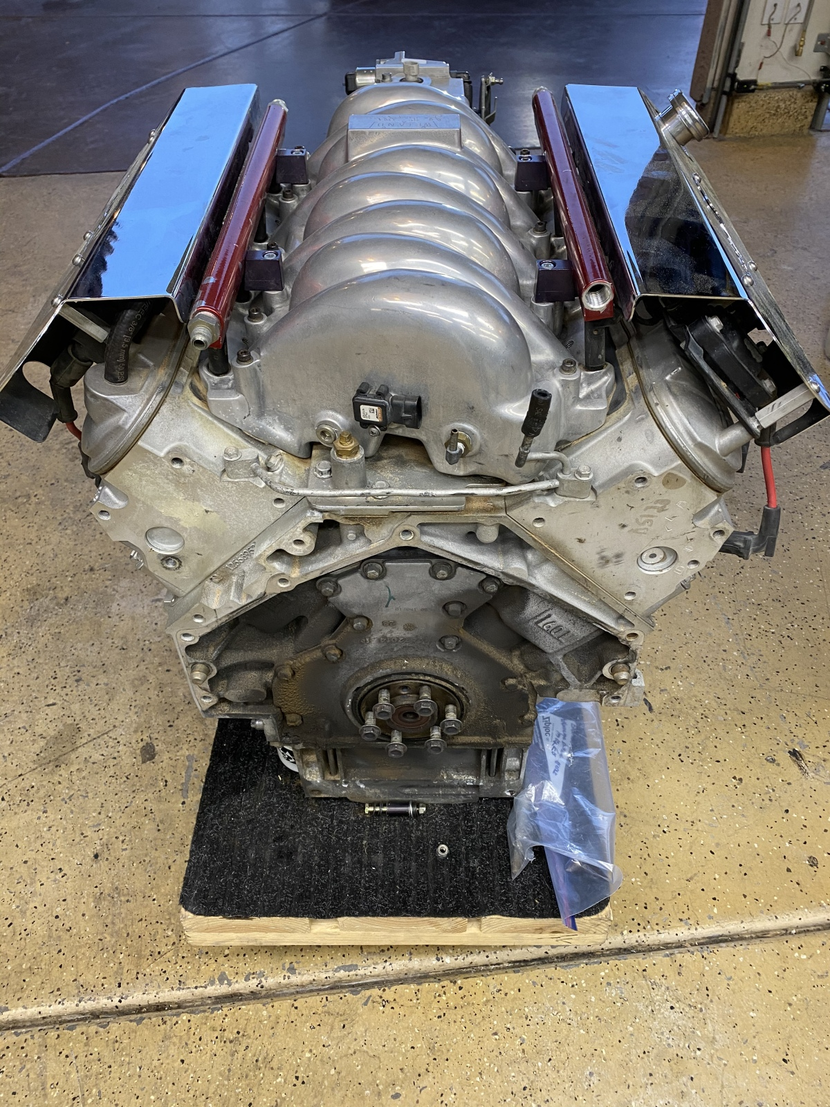 For Sale: CBM LS2 engine, harness and computer - photo3