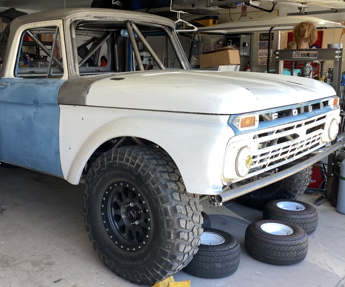 For Sale: 1961-1966 Ford F100 Autofab Fenders - photo0