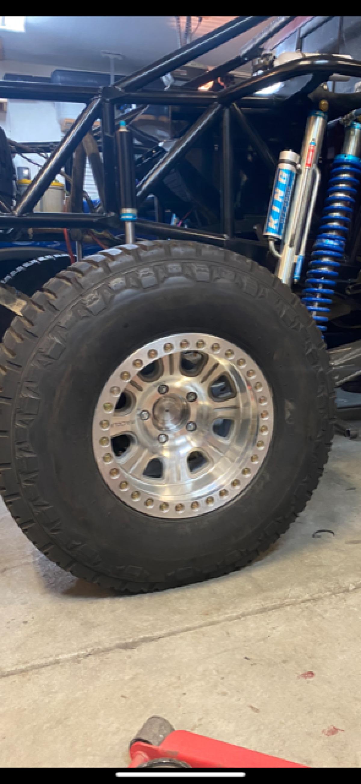 For Sale: 17x9.5 Raceline Monster Beadlocks with 35x12.5 Maxis Tires - photo0