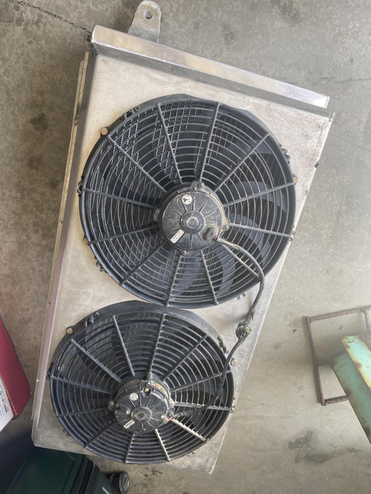 "For Sale: Dual 14"" Fan Aluminum Radiator  - photo0"
